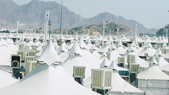 Transforming traditional Egyptian pilgrims camps in Mount Arafat camps specifications and quality